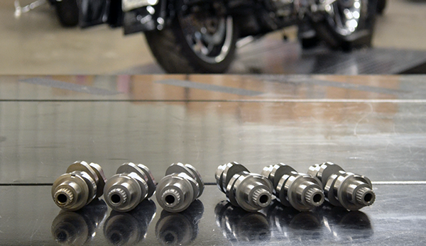 H-D Milwaukee-Eight® 107ci Camshaft Shootout